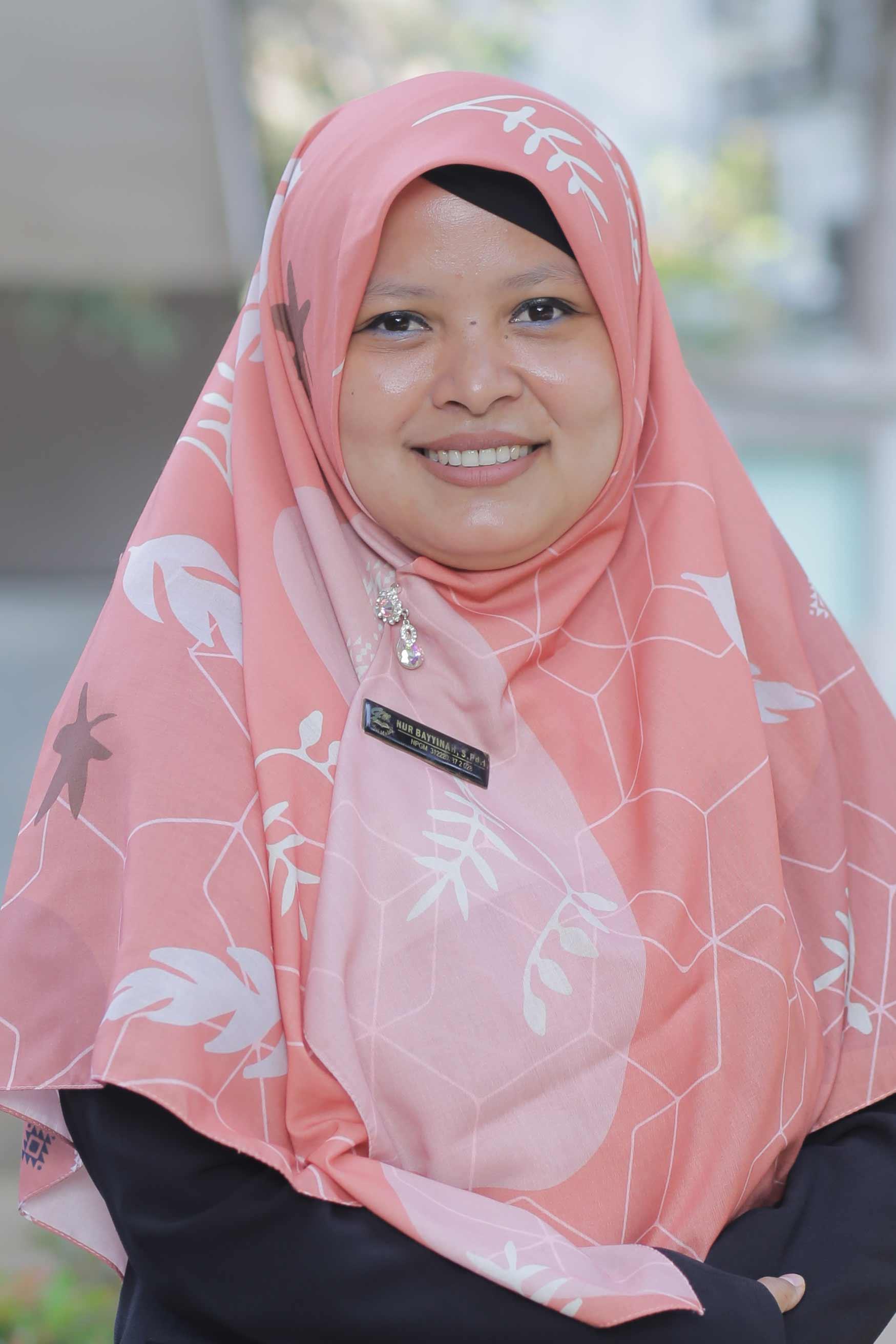 Nur Bayyinah, S.Pd.I.